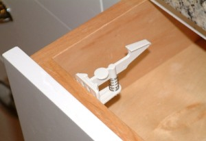 Safe Cabinets And Drawer Safety Latches Baby Safe Homes