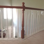 Baby Safe Rolled Plastic for Stair Banister