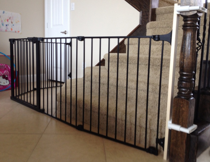 Baby Safe Homes Custom Baby Safety Stair Gate Installation In