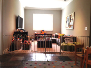 Large Sectional Baby Gate for Playroom