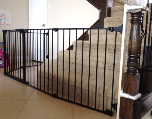 Marvelous Custom Bottom Of Stairs Sectional Toddler Safety Gate