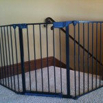 Top of Stair Sectional Baby Gate