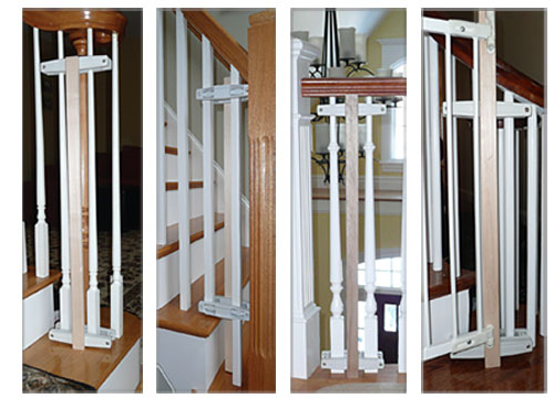 Custom Baby Gate Wall And Banister No Holes Installation Kit Baby