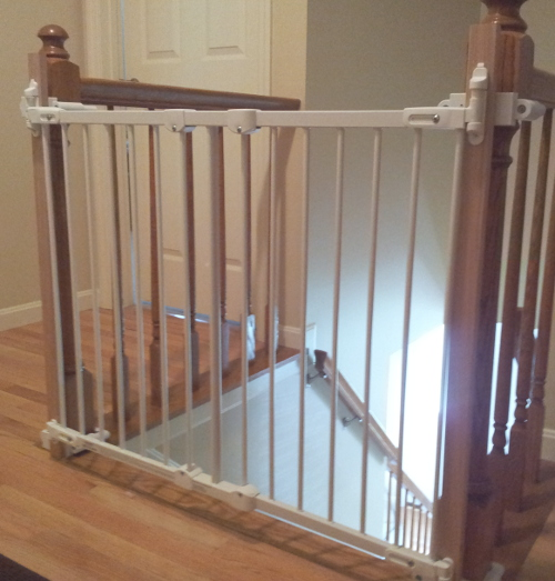 Flush Mount Square Posts. Baby Safety Gate ...