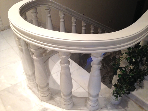 Baby proofing banisters