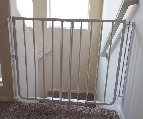 baby gate phoenix bottom of stair baby gate phoenix baby safe gate ...