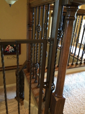 Custom Baby Gate Installation And Color Match Austin