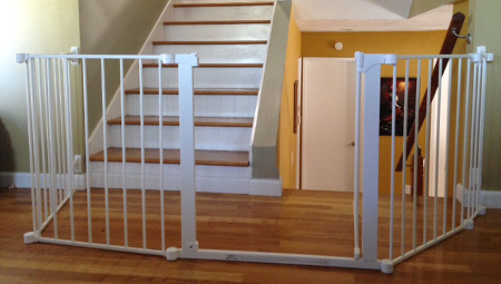 Beau Top And Bottom Of Stair Toddler Safe Gate