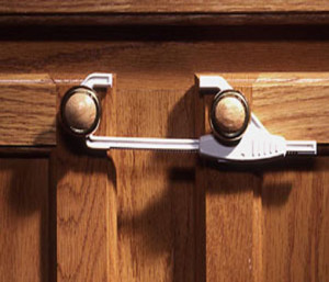 safe cabinet and drawer safety locks and latches