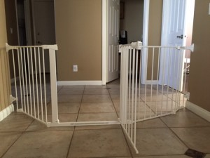 Extra Wide Large Sectional Baby Safety Gate