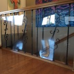 Baby Safe Plexi Glass for Stair Banister