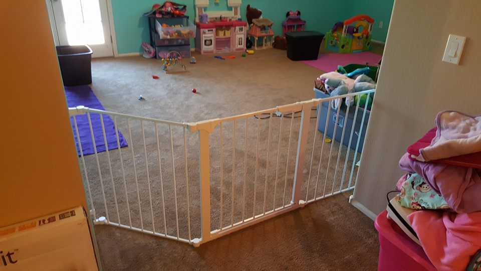 Baby Gate Installed In Phoenix Arizona By Safe Homes