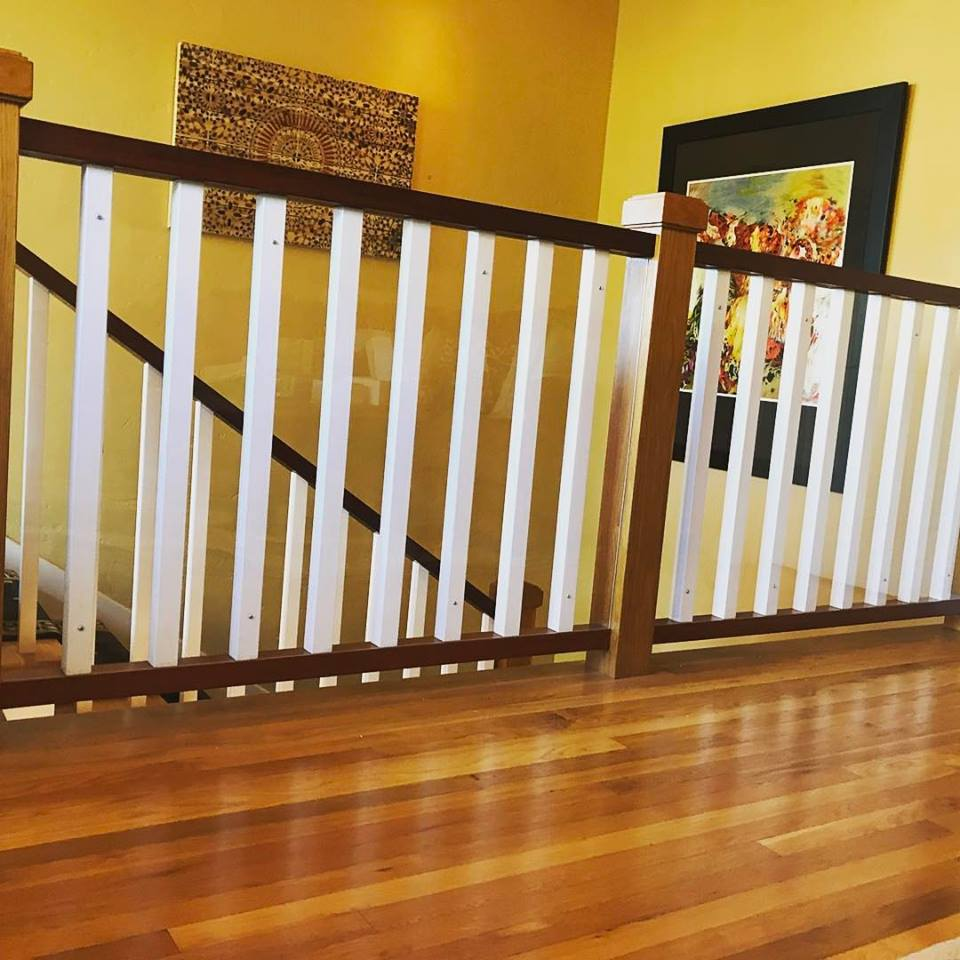 Banister Shield Baby Proofing
