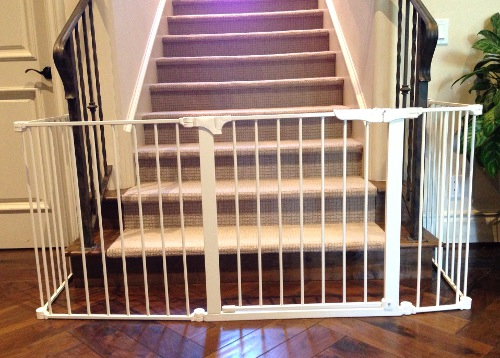 Bottom Of Stairs Sectional Baby Gate