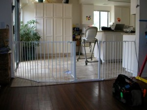 Custom Toddler Safe Sectional Room Divider Gate