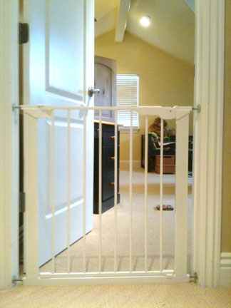 Baby Gate On Child S Bedroom Door Online
