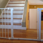 Top and Bottom of Stair toddler safe gate