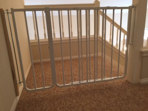 Top of Stairs Baby Safety Gate, Laguna Niguel, CA