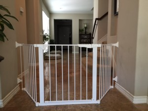 Custom Wide Safety Gate in San Juan Capistrano, CA