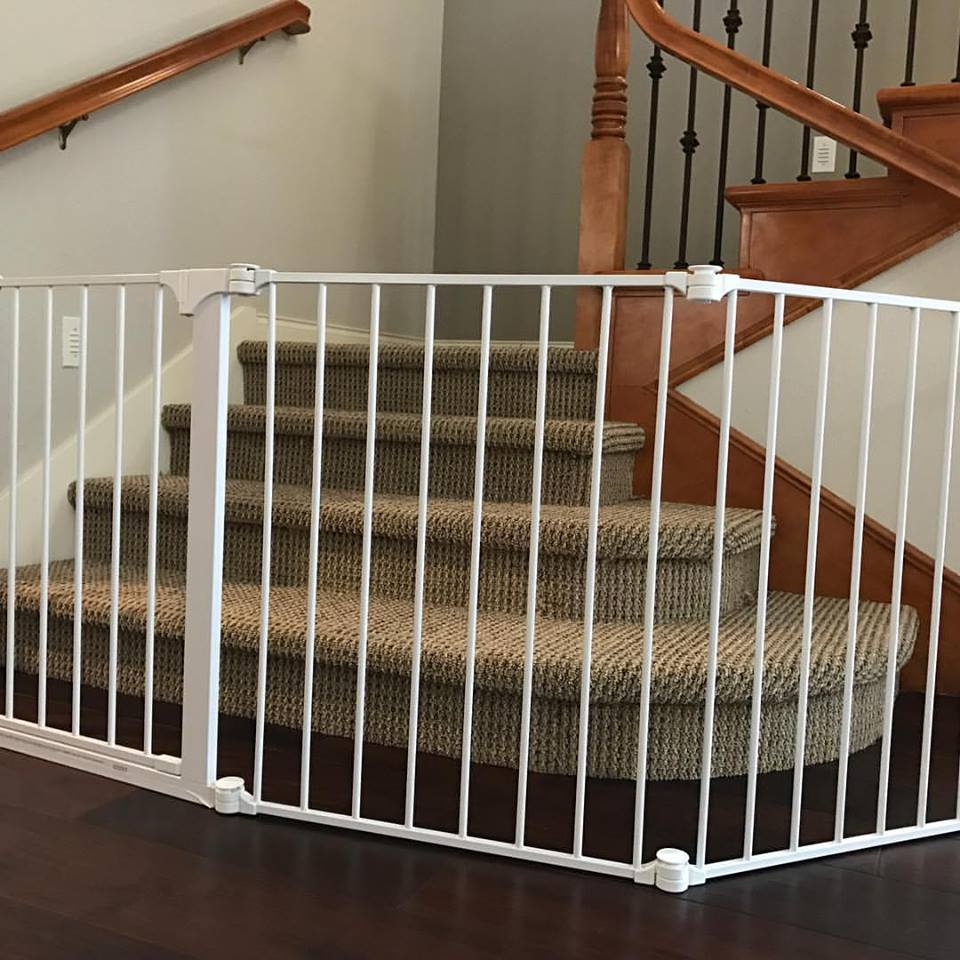 Extra large Baby Gate installed in San Diego