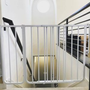 Baby gate for top of stairs