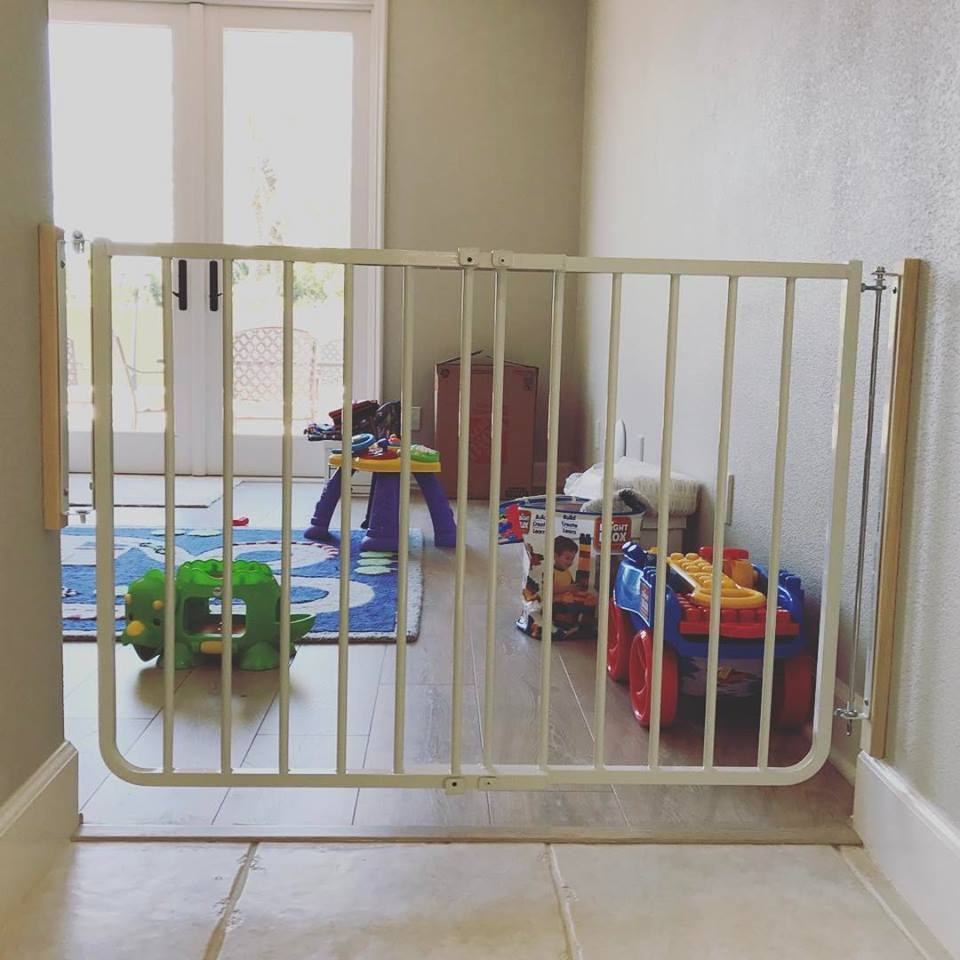 child safety gate for play room