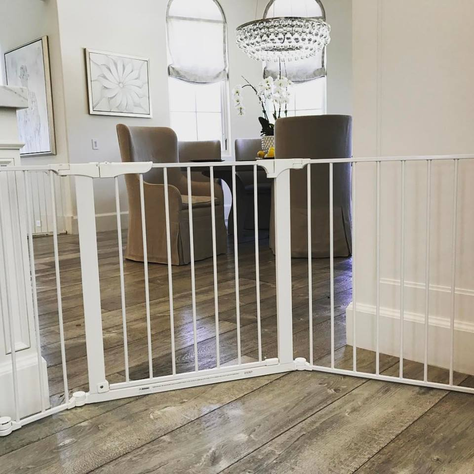 Custom sectional baby gate