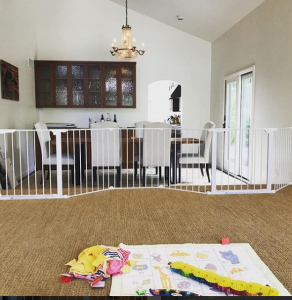 Child Safety Gate for Dining Room