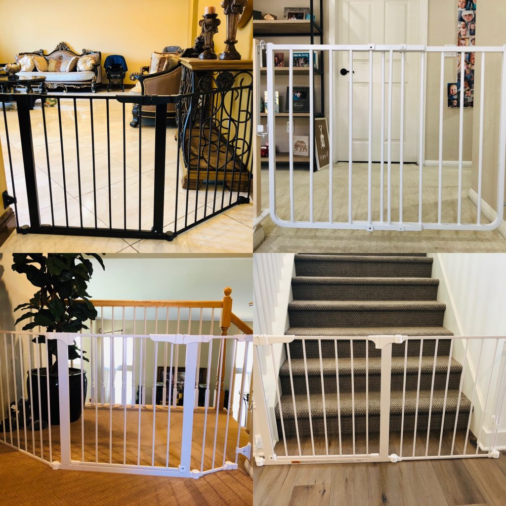 Child baby stair gate