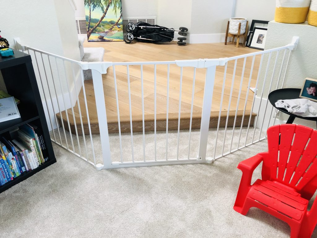 Wide play room gate Rancho Penasquitos