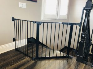 Top of stairs baby gate 4S Ranch